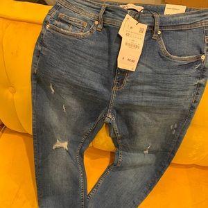 Zara Jeans - Zara Man Skinny Cropped Fit Jeans